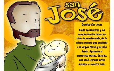 ¡¡FELIZ DÍA DE SAN JOSÉ!!