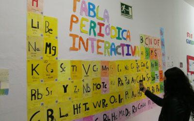 ESPACIOS DE APRENDIZAJE: Tabla periódica interactiva.