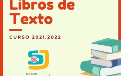 Listado de libros curso 2021.22